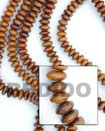 Natural Bayong Mentos Wood Beads