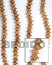 Natural Bayong Saucer Wood Beads