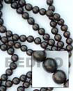 Natural Camagong Beads 8mm In Beads BFJ058WB Shell Necklace Wood Beads