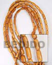 Natural Bayong Oval Woodbeads