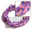Natural 5 Rows Coco Pokalet Color Combination Bracelet