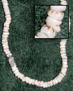 Natural Puka Tiger Shells In Beads Strands Or