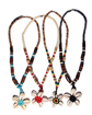 Natural Wholesale Lot Sigay Flower Necklace
